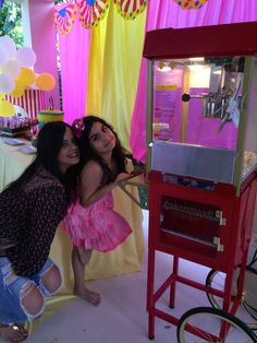 Adriana's Carnival Pool Party | CatchMyParty.com