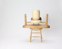 Bench, Chair and side table. Scandinavian furniture. Design: Anne Brandhøj Denmark