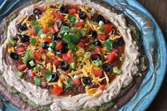 Finger Food Friday -- Mexican Layer Dip