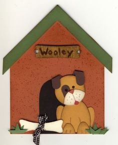 Stampin' Up!  Punch Art  Jackie Topa  Puppy and Dog House