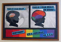 brain, color, silhouette