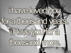 a thousand years-Christina Perrie