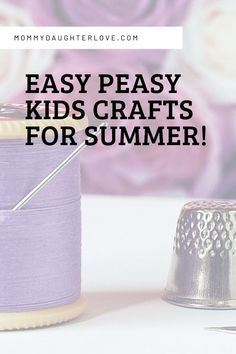 Easy no prep kids crafts for kids this summer! We have fun ways to stay refreshed on letters and NUMBERS! Your kiddos will love these hands on crafts if they are between the ages of 2-5! #handsoncrafts #kidscrafts Plastic Flower Pots, How To Make Cupcakes, Diy Letters, Sensory Bins, Construction Paper, Easy Crafts For Kids, Daughter Love, Program Design, Easy Peasy