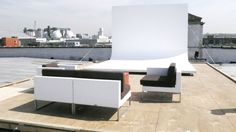 roof top Cyc wall- I want one on wheels outside for my dream studio location.
