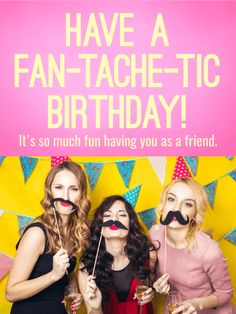 Send Free Girl Power Funny Birthday Card for Friends to Loved Ones on Birthday & Greeting Cards by Davia. It's 100% free, and you also can use your own customized birthday calendar and birthday reminders.
