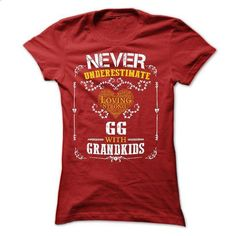 Never Underestimate - GG with grandkids - printed t shirts #country sweatshirt #gray sweater