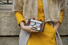 Street Style Shoes and Bags at Fashion Week Fall 2016 | POPSUGAR Fashion
