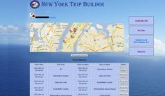 """NYTripBuilder.com is a travel site that helps you personalize your trip. In few quick steps, your personalized itinerary will be created. The final itinerary will not only include your """"Must See"""" places but will also include the recommended places by NYTripBuilder.com especially personalized for you. Your itinerary could be retrieved at any time, any place by just logging into NYTripBuilder.com through either your Facebook account or Foursquare account. Open Data, Us Travel, Four Square, Nyc, Action, New York, Facebook, Park, Places"""