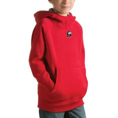 Northern Illinois Huskies Antigua Youth Victory Pullover Hoodie - Red