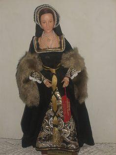 Ann Parker Doll of Anne Boleyn Anne Of Cleves, Anne Boleyn, Victorian Dolls, Antique Dolls, Matsuri Festival, German Costume, Hina Matsuri, Doll Museum, Italian Baby