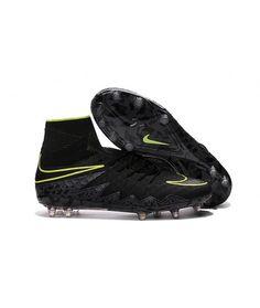 brand new 65323 79f81 Nike Hypervenom II Phantom Premium FG PEVNÝ POVRCH Flywire High Top Men  kopačky - černá zelená