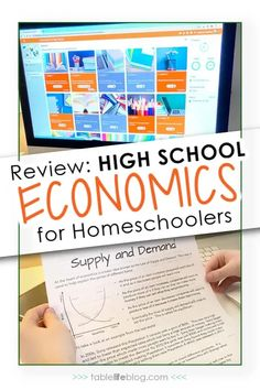 Need to add high school economics to your teen's homeschool lineup? This self-paced online option from Mr. D Math has you covered! Economic Topics, Opening A Bank Account, Course Catalog, School Reviews, Teaching Supplies, High School Years, Reading Material, Homeschool Curriculum, College Life