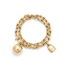 Tiffany HardWear 18k Gold Wrap Bracelet | Tiffany & Co.