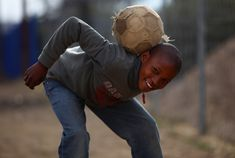 Look at the happiness with such a used ball.