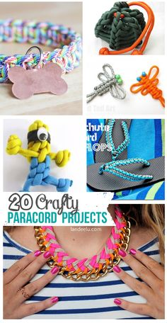 20 Crafty DIY Paracord Projects | Full Tutorials - landeelu.com