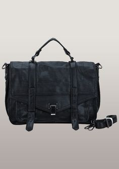 The Most Coveted Bag For Years Faux Leather Black