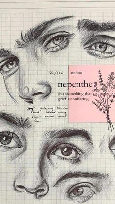 aesthetic art ideas inspiration bullet journal sketches