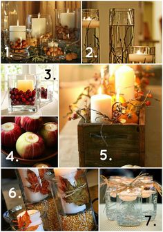 Tips and ideas for setting the tone for your Thanksgiving dinner.