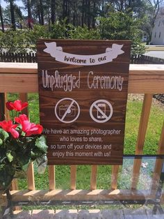Wedding Decorations - Simple Actions To Have The Perfect Wedding Ceremony Wedding Ceremony Ideas, Ceremony Signs, Cute Wedding Ideas, Wedding Tips, Perfect Wedding, Fall Wedding, Diy Wedding, Rustic Wedding, Wedding Planning