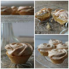 Mini lemon meringue pie tart