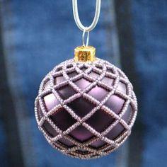Beaded Ornament Cover | JewelryLessons.com $5.00