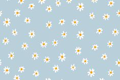 Download free vector of Flower background desktop wallpaper, cute vector by Sasi about cute backgrounds, blue pastel background, wallpaper background, wallpaper, and aesthetic wallpaper illustration 3891876