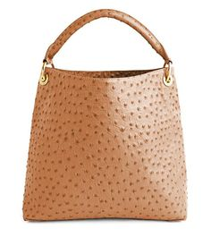 EMBOSSED OSTRICH HOBO Cast in vibrant fuchsia or a rich saddle hue, color plays with texture in a silhouette crafted to fit all of life`s key pieces. Interior pockets keep the little things impeccably organized, while you focus on the big picture. Types Of Purses, Boyfriend Watch, Pink Day, Pink Cadillac, J Mclaughlin, Pink Handbags, Beautiful Handbags, Everything Pink, Day Bag