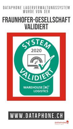 Dataphone Lagerverwaltungssystem wurde von der Fraunhofer-Gesellschaft getestet und validiert. Fraunhofer, Innovation, Software