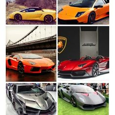 Lamborghini Family! Which is your Favourite!
