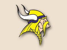 Custom Cornhole, LLC - Minnesota Vikings Cornhole Decal, $14.99 (http://customcornhole.com/minnesota-vikings-fathead/)