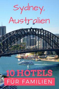 Die 10 besten Hotels in Sydney, Australien für Familien mit großen und kleinen Kindern. Von hip und cool zu Strandhotels, australischen Buscherlebnissen und Campingurlauben, hier ist für jeden Geldbeutel was dabei. #reisetipp