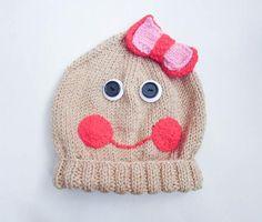Gingerbread Boy or Girl Baby Beanie Hat