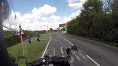Old man on his Old Motorbike answering Britex3186