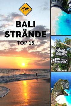 Entdecke mit uns die Top 15 Strände auf Bali. Klicke hierzu einfach aufs Bild. #Bali #Traumstrände #NusaPenida #NusaLembongan