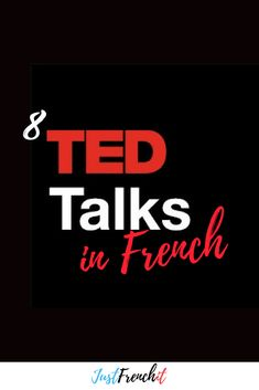 8 TED Talks in French you need to watch TED talks are great, right? Why not combining your French learning and watching TED Talks? I mean, there's TED Talks in French… French Language Lessons, French Language Learning, French Lessons, Learning Spanish, Foreign Language, Spanish Lessons, Spanish Language, Spanish Activities, Dual Language
