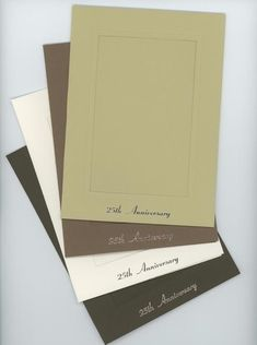 25th Anniversary Photo Note Cards - PLYMOUTH CARD COMPANY