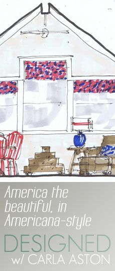 Click to read >> http://carlaaston.com/designed/design-plan-tour-america-americana-beautiful | Interior design process I use with my clients / #InteriorDesign