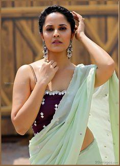 Anasuya Bharadwaj Hottest Photos in Saree Beautiful Girl Indian, Most Beautiful Indian Actress, Beautiful Saree, Beautiful Actresses, Beautiful Women, Indian Actress Photos, Indian Actresses, Sonam Kapoor, Deepika Padukone