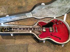 Vintage 1968 Gibson ES 335 True Player's Guitar Like Butter Hardshell Case | eBay