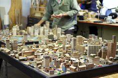 Kiel johnson's cardboard models of the city as archetype