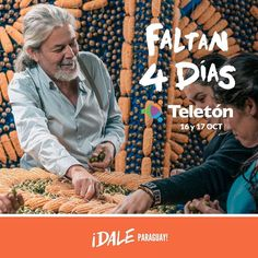 Llega el momento de darnos fuerzas entre todos. Faltan 4 días para la Teletón. Dale que podemos dale Paraguay! #DaleParaguay