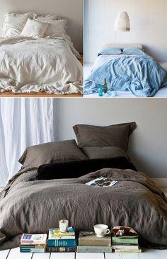 Cozy DIY linen Duvet