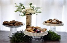 Upcycle Dishware into Cake Stands