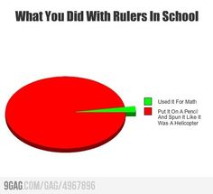 Haha story of my life in elementary school.