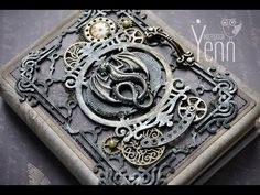 Блокнот стимпанк. МК. Скрапбукинг. Steampunk notebook. Master Class. Scrapbooking. - YouTube