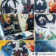 #Repost @goodgamesbondi (@get_repost)  The hype is real! We here at Good Games Bondi Junction have teamed up with @starplaymat to get some sweet sweet L5R mats!!! We'll be throwing these in as ultimate prizes for our Saturday League tournament as well as the much hyped L5R community lead monthly tournament! We're super excited and you should be too!  Go check out the @starplaymat Instagram page and website at starplaymat.com.  There's plenty of rad L5R stuff jump in and follow like and buy…