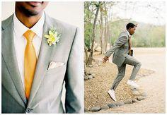 Oh yeah...The groom.
