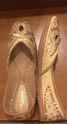 43cd9447b628 Ilse Jacobson Handmade Artisan Gold Size 9 1 2 women s flats  fashion   clothing