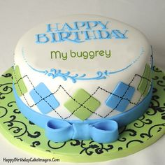 Birthday Cake Image for Boyfriend with Name  Happy Birthday Cake Images