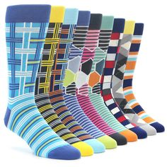 Perhaps one of the boldest collections yet, this men's Statement Sockwear set is the perfect gift for someone that needs a sock drawer makeover or is looking to add to an already awesome drawer. Shop this collection and more.